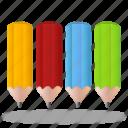 pencils, pencil, color, color pencil, color pencils, colorful, paint, draw, design, palette