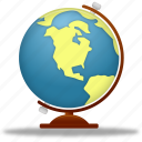 earth, education, globe, internet, learning, planet, school, study, training, world icon
