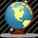 globe, planet, earth, internet, world, school, training, learning, education, study