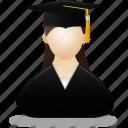 girl, woman, lady, user, users, female, graduate, profile, account, people
