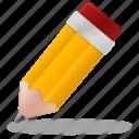 pencil, pen, education, study, school, training, learning, edit, write