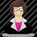 teacher, female, woman, lady, user, profile, people, users, account