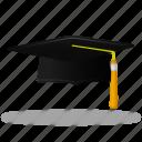 cap, trencher, study, student, hat, graduation, training, school, education, learning