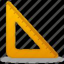 ruler, triangle, rulers, tool, tools, measure