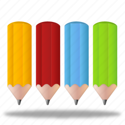 color, color pencil, color pencils, colorful, design, draw, paint, palette, pencil, pencils icon