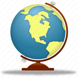 earth, education, globe, internet, learning, planet, school, study, training, world icon