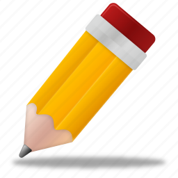 edit, education, learning, pen, pencil, school, study, training, write icon
