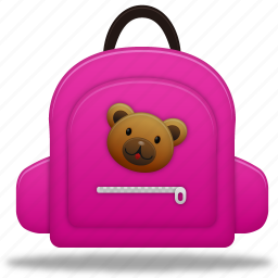 bag, education, learning, school bag, schoolbag, study, training icon