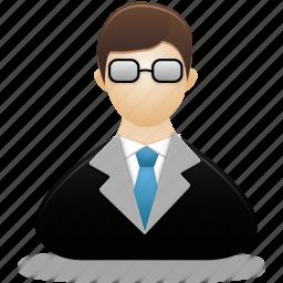 account, human, male, man, people, profile, teacher, user, users icon
