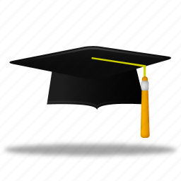 cap, education, graduation, hat, learning, school, student, study, training, trencher icon