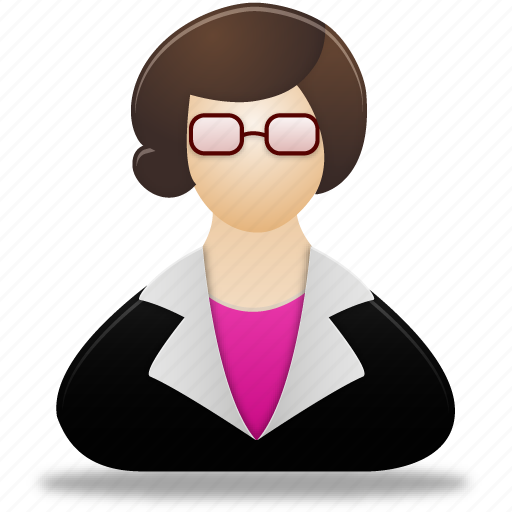account, female, lady, people, profile, teacher, user, users, woman icon