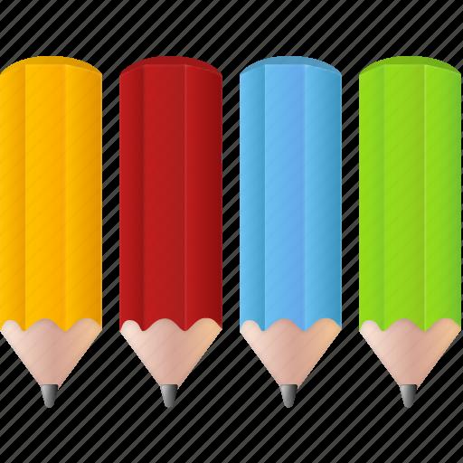 art, color, colorful, colorpencils, draw, education, grahpic, paint, palette, pencil, pencils, school, student, study icon