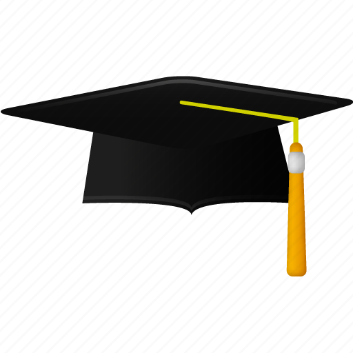 cap, education, graduation, hat, school, student, students, study, trencher icon