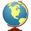 earth, education, geography, globe, learning, planet, school, study, training, world icon