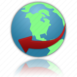browser, earth, globe, internet, network, planet, service, web, world icon