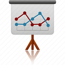 business, conference, display, office, powerpoint, presentation, screen icon