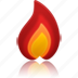 fire, hot, temperature, warm, weather icon