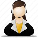 business, customer, customers, ecommerce, female, online, people, service, shopping, user, users icon