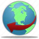 communication, connection, globe, service, planet, world, earth, internet, web, network, browser