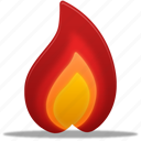 burn, fire, hot, temperature, warm, weather icon