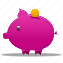 banking, business, buy, cash, coin, ecommerce, finance, money, payment, piggy bank, price, shopping icon