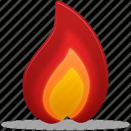 burn, fire, hot, temperature, warm, weather icon