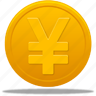 business, cash, coin, currency, ecommerce, finance, money, price, shopping, yuan icon