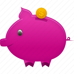 bank, banking, business, buy, cash, coin, dollar, ecommerce, finance, money, payment, piggy, price, shopping icon