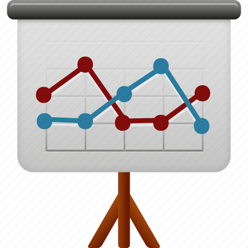 business, conference, display, finance, office, powerpoint, presentation, screen icon