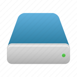 database, disk, drive, storage icon