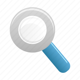 find, magnifier, search, view, zoom icon