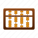 abacus, account, conculate, count, math icon