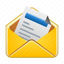 already, email, letter, mail, message, read icon