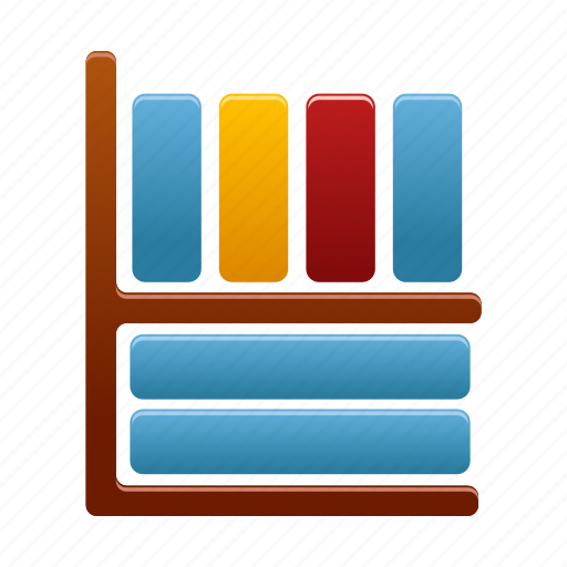 book, books, knowledge, learning, library, reading, study icon