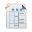 document, documents, file, files, history, order icon