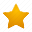 bookmark, favorite, favourite, full, like, rating, star icon