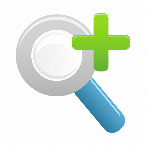 In, zoom, find, magnifier, magnifying, search, view icon - Download on Iconfinder