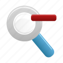 find, out, search, view, zoom icon
