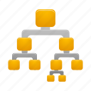 binary, tree icon