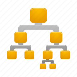 binary, tree icon