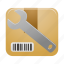box, configuration, item, options, package, parcel, settings icon
