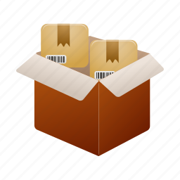 box, package, packing, parcel, shipping icon