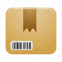 box, delivery, parcel, product, shipping icon