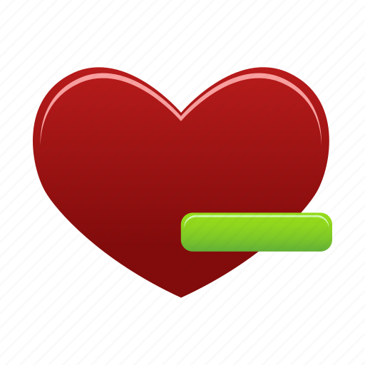 bookmark, delete, favorite, favorites, from, love, remove icon