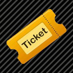 film, movie, ticket, tickets icon