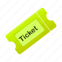 film, movie, ticket, tickets icon