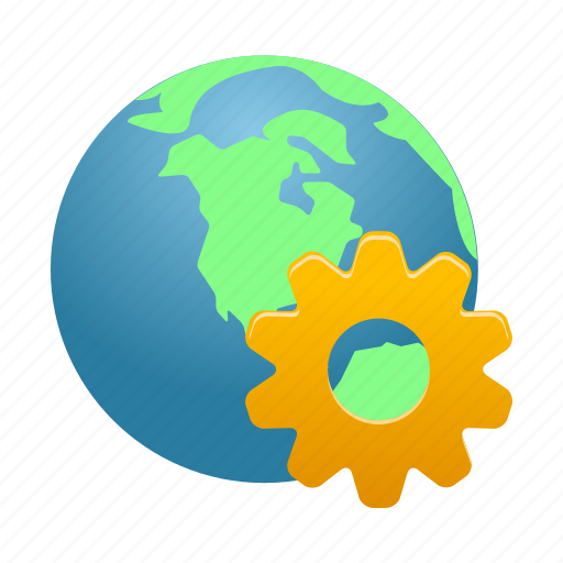 earth, globe, internet, management, network, web icon