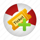 create, movie, ticket, tickets icon