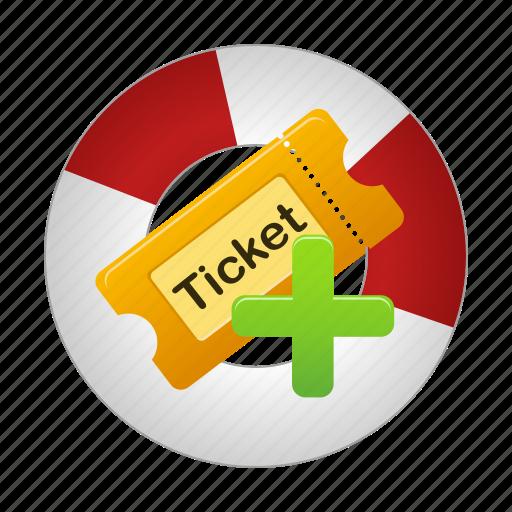 create, movie, ticket, tickets icon