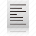text, align, left, file, document, paper, file type